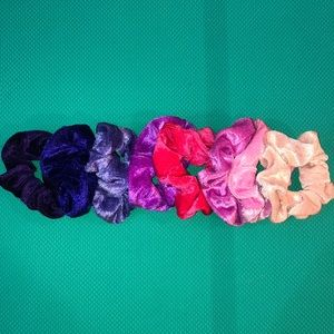 Accessories - New pinks and purple scrunchie bundle